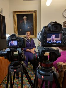 Interviewing Patricia Scotland, first black woman QC and Attorney General